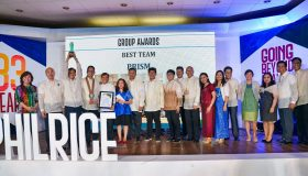 PRISM wins the 'Best Team' award