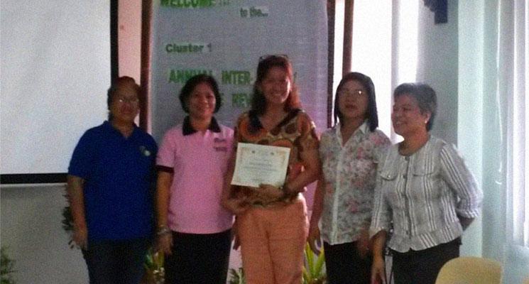 PRISM wins best paper in Leyte