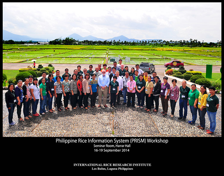 PRISM workshop at IRRI