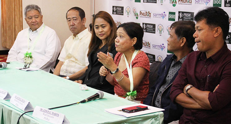 Officials of PRISM Project partners with Senator Cynthia Villar during PRISM's Annual Executive Meeting