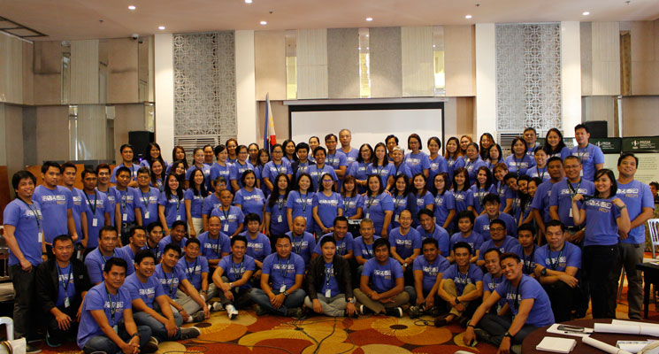 The project team at PRISM's 2nd National Convention