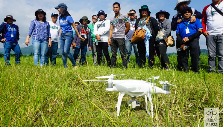 PRISM Workshop on Rice Mapping, Yield Estimation, and Use of Drone for Rice Monitoring